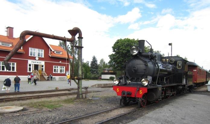 2012-08-01, Lennakatten i Faringe (Ångloket Thor)