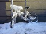 Nedisad cykel på Kungsholmen