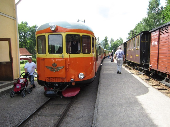 Marielund, rälsbuss, 2013-06-28