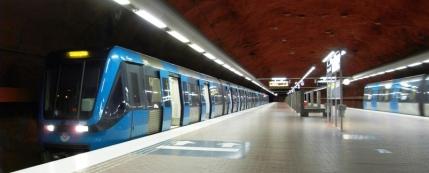 Tunnelbana Skarpnäck