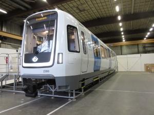 C30 tunnelbanevagn, mock-up