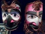 Etnografiska museet, masker, nordamerikanska indianer(2)