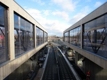 Roslagsbanan, Roslags Näsby, stationsbyggnader